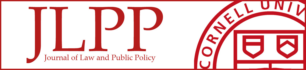 Cornell Journal of Law and Public Policy
